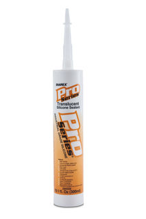 Pro Series Silicone Sealant Caulk Translucent