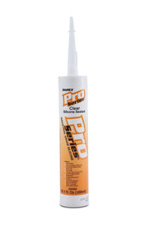 Pro Series Silicone Sealant Caulk Clear