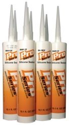 Pro Series Silicone Sealant Caulk Black
