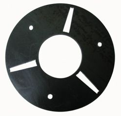"SURFACE PRO QC PLATE, 8"" (200MM) DIA. x 3 SLITS (DK)"