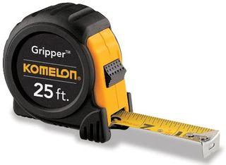 Komelon Gripper Tape Measure 25 ft