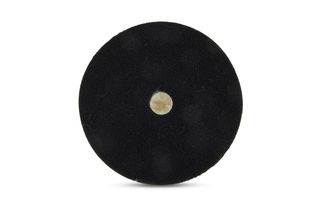 """Lambswool Buffing Pad, QRS Backed, 6 1/2"""", Step 1"""