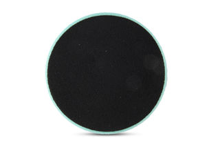 "Green Foam Light Polishing Pad, QRS Backed, 6 1/2"", Step 2"