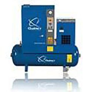 Quincy QGS-15D Air Compressor w/ Dryer, 208/230/460