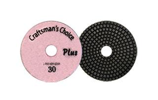 30-Grit Craftsman's Choice Plus Wet Polishing Pads
