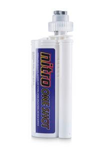 Nitro One Shot Adhesive 250 ml 116 Newport with 2 Tips