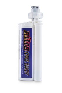 Nitro One Shot Adhesive 250 ml 852 Storm Gray with 2 Tips