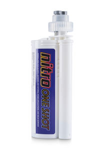 Nitro One Shot Adhesive 250 ml 881 Brazillian Brown with 2 Tips