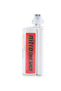 Nitro One Shot Rodding and Clip Adhesive 250ml with 2 Tips