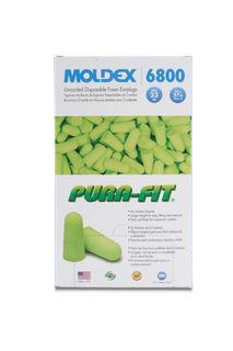 Moldex Pura-Fit Earplugs, NRR 33 dB, Box Of 200, Uncorded