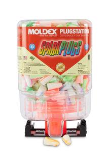 Moldex Sparkplugs Plugstation, NRR 33 dB, 250 Pairs