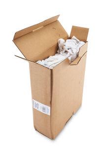 White Knit Cotton Shirt Rags 10lb Box