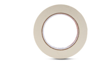 """Industrial Crepe Tape, 2"""" Natural, 60 Yd. Long Roll 24/C"""