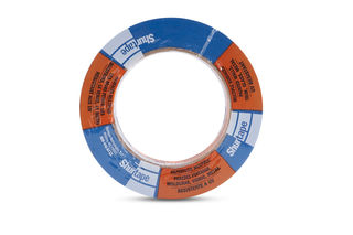 "2"" Shurtape CP27 Blue Masking Tape, 48mm x 55mm, 24 Per Box"