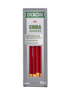 China Markers Red Box Of 12