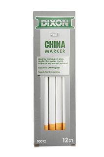China Markers White Box Of 12