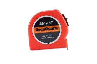 Granquartz Tape Measure, 25 Ft, Orange