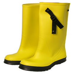 Over-The-Shoe Yellow Boots