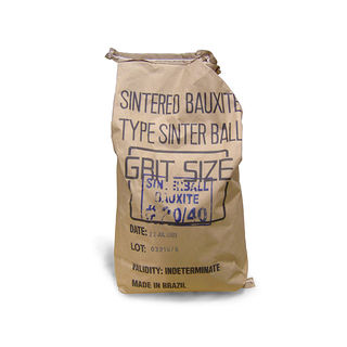 Abrasive Sinter Ball 20/40 Grit 50lb Bag