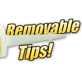 Replacement Removable Nozzle & Tip for Silicone
