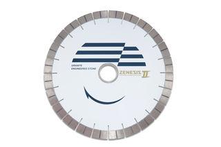 "Zenesis II Bridge Saw Blade 14"" 25mm Segmented 50/60mm"