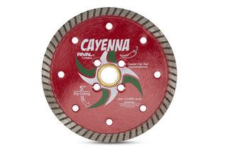 "Cayenna Turbo Blade 5"" 5/8""-20mm-7/8"" 4 Holes"