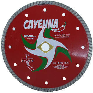 "Cayenna Turbo Blade 7"" 5/8""-DKO-7/8"""