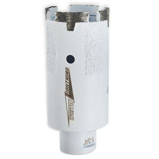"White Lightning T-Segment Core Bit 1-3/4"" Diameter 5/8""-11"