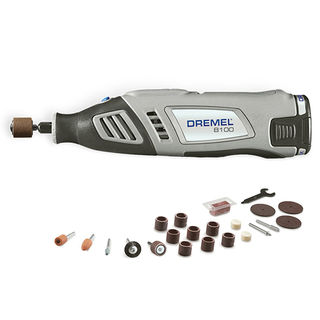 Bosch Dremel Cordless Rotary Tool with case and Accessories 8100-8V