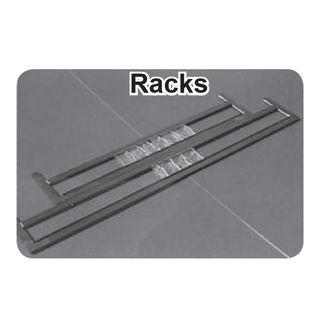 """Roller Press Letter Rack Adjustable 18"""""""