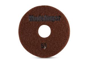 "Mudslinger Concrete Diamond Polishing 5"" Disc #50 Brown"