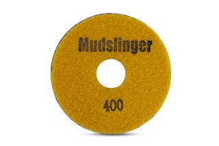 "Mudslinger Concrete Diamond Polishing 5"" Disc #400 Yellow"
