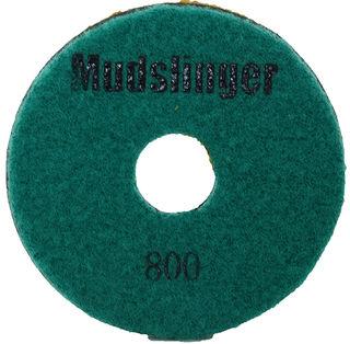 "Mudslinger Concrete Diamond Polishing 5"" Disc #800 Green"