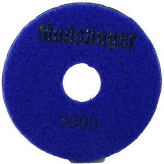 "Mudslinger Concrete Diamond Polishing 5"" Disc #3000 Purple"