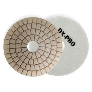 """DX-PRO Wet Polishing Disc 4"""" White Buff"""