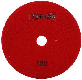 "Con-Dri Dry Concrete Polishing Pads 4"""