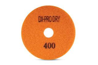 """DX-Pro Dry Polishing Pad 4"""" 400 Grit Orange"""