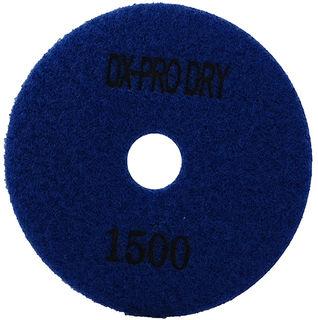"DX-Pro Dry Polishing Pad 4"" 1500 Grit Blue"