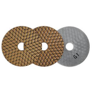 """Octron 3 G-Line Polishing Pads 4"""""""