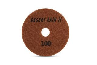 "Desert Rain Honeycomb Dry Pad 4"", 100 Grit, Brown Velcro"