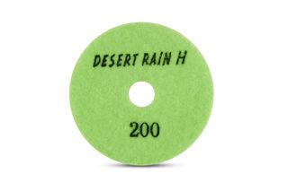 """Desert Rain Honeycomb Dry Pad 4"""", 200 Grit, Light Green Velcro"""