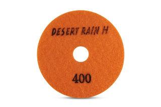 "Desert Rain Honeycomb Dry Pad 4"", 400 Grit, Orange Velcro"