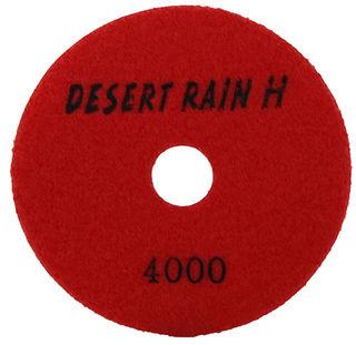 "Desert Rain Honeycomb Dry Pad 4"", 4000 Grit, Red Velcro"