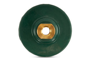"Super Flexible Green Backer Pad 4"" 5/8-11"