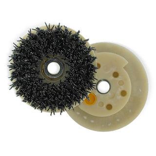 "Silicon Carbide Antiquing Wheel Brushes 4"""