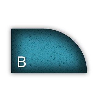 "Apexx Router Bit Form B 30mm 1-1/4"" Position 0 Segmented"