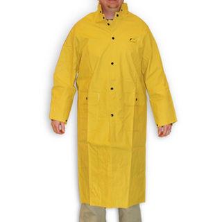 "Medium 48"" Yellow Coat with Detachable Hood"