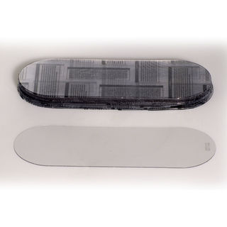 """771040 .040"""" Thick Acetate Oval Outer Lens (each, 1 lens)"""