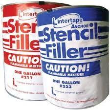 Intertape #223 Sandblast Filler Gallon #70097 Low Tack