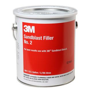 3M #2 Sandblast Filler Gallon